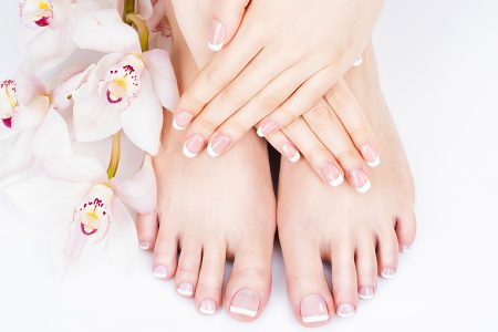 how to pedicure using natural ingredients
