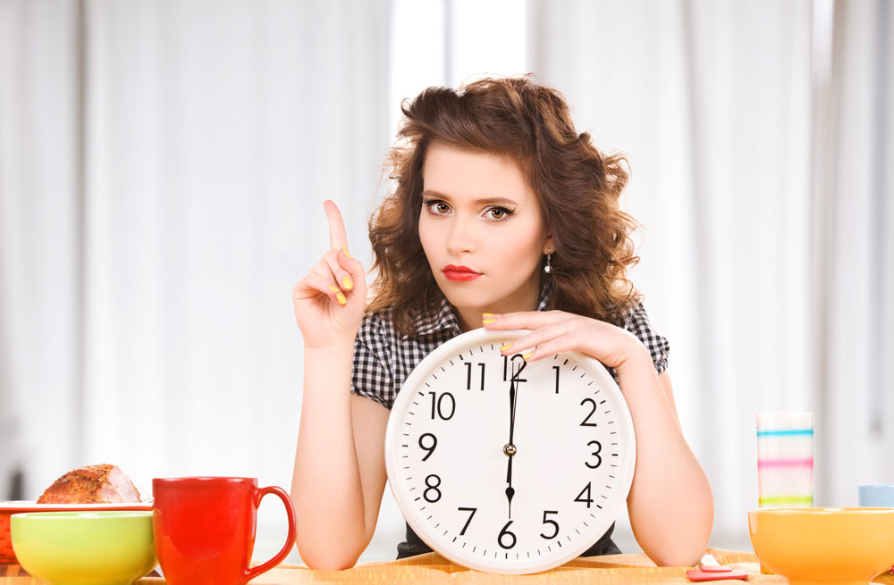 woman-with-a-clock